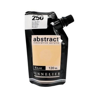 Акриловая краска Abstract, 120 мл, охра телесная