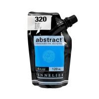 Акриловая краска Abstract, 120 мл, голубой