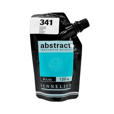Акриловая краска Abstract, 120 мл, бирюзовый