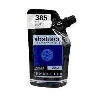 Акриловая краска Abstract, 120 мл, синий