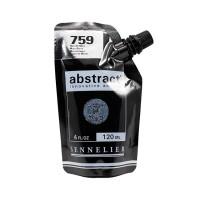 Акриловая краска Abstract, 120 мл, марс черный