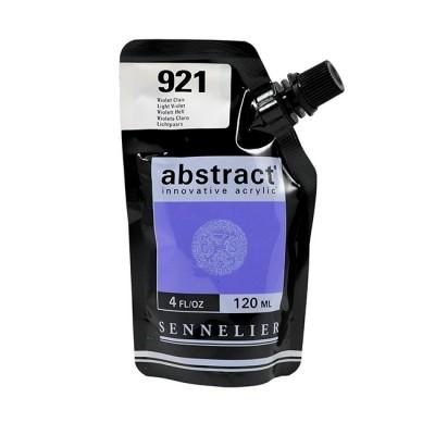 Акриловая краска Abstract, 120 мл, фиолетовый светлый