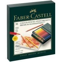 Карандаши цветные художественные Faber-Castell Polychromos 36цв., заточен., студийная коробка