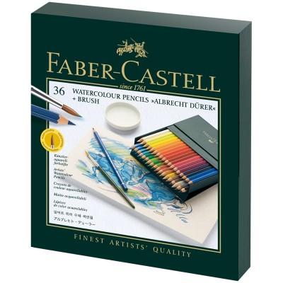 Карандаши акварельные художественные Faber-Castell Albrecht Dürer, 36цв, студийная коробка
