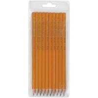 Набор чернографитных карандашей Koh-I-Noor 1696, 10 штук, 2H-2B