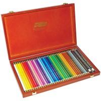 Карандаши художественные Koh-I-Noor PolyColor в деревянном пенале - 36 цветов