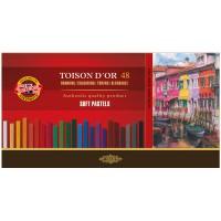 Пастель художественная сухая Toison d'or Koh-I-Noor, 48 цветов, картонная упаковка