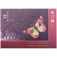 Планшет для пастелей 20л. А4 Лилия Холдинг Бабочка, 200г/м2, 4-х цветная тонированная