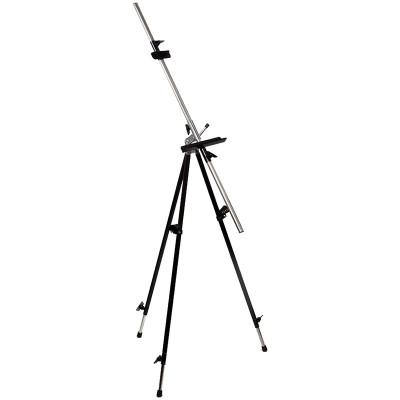Мольберт металлический (алюминиевый), тренога, 92х92х203 см