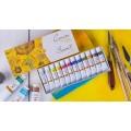Краски масляные Сонет, 12 цветов, 10мл/туба, картон